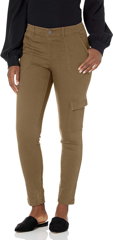 b new york Women's Eco Cotton Skinny Cargo Pant
