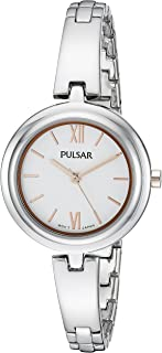 Pulsar Women's PG2037X Every Day Value Analog Display Japanese Quartz Silver Watch