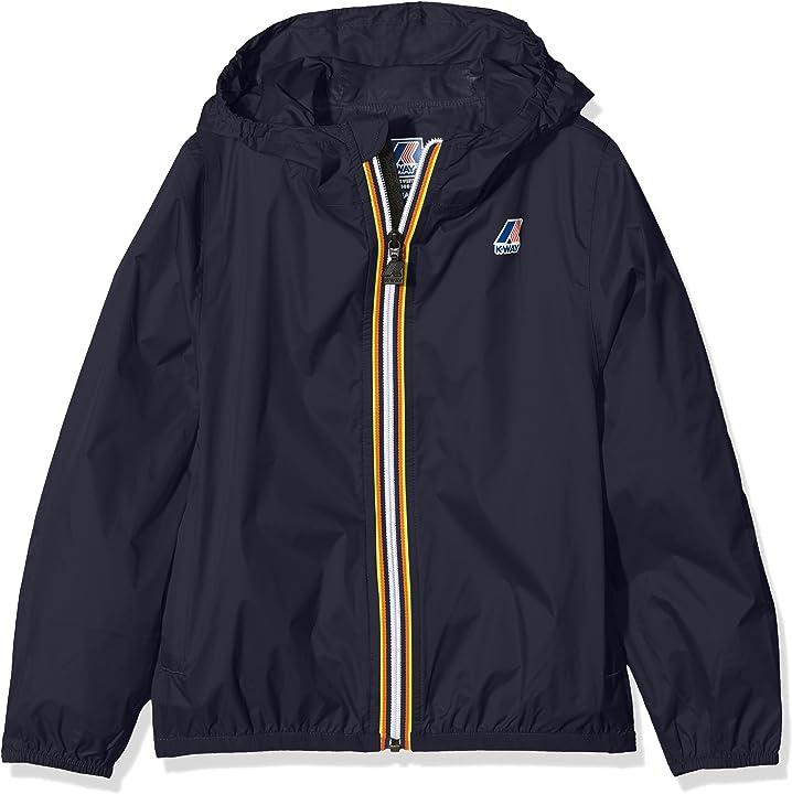 K-way claude giacca impermeabile bambino K004BD0