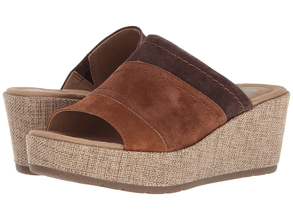 Earth Origins Myra (Cognac Multi Suede) Women