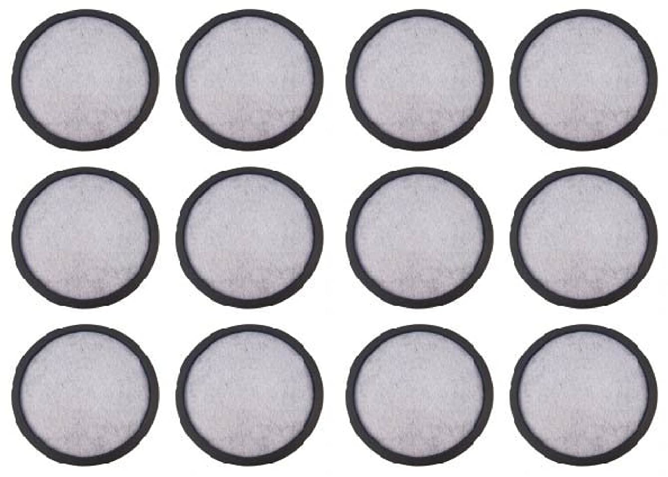 NISPIRA 12-Replacement Charcoal Water Filters for Mr. Coffee Machines