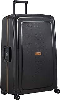 Samsonite S'Cure Eco - Spinner XL valigia, 81 cm, 138 L, Nero (Eco Black)
