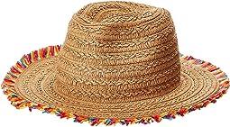 Betsey Johnson - Fringe Factor Panama Hat