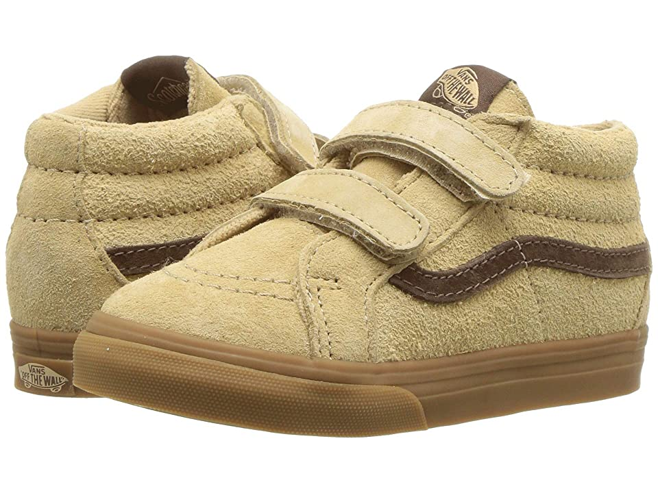 Vans Kids Sk8-Mid Reissue V (Infant/Toddler) ((MTE) Latte/Light Gum) Boys Shoes