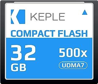 CF 32 GB Tarjeta de Memoria Compact Flash 500x Velocidad 75 MB/s R 98 MB/s W 46 MB/S UDMA 7 Compatible con Nikon D5 D4 D800 D810 D700 D300; Canon 5d Mark II III IV; 7d Mark II