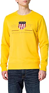 GANT Men's Archive Shield C-neck Sweatshirt