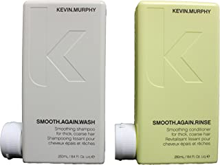 Kevin Murphy Smooth Again Wash and Rinse combo set 250 ml/8.45 Fl Oz Liq. each New Product