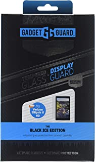 Gadget Guard Black Ice Edition Tempered Glass Screen Guard for Verizon Ellipsis 8Hd - Clear
