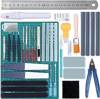 HSEAMALL Guandam Kit de 38 outils de construction pour modélisme Bandai Hobby Gundam
