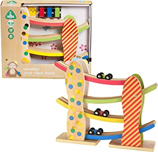 Early Learning Centre Wooden Click Clack Track, Amazon...
