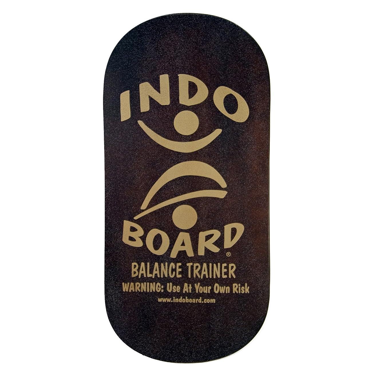 ハウス仮定承認するINDO BOARD(インドボード) バランスボード INDO ROCKER ボード単品 ブラウン