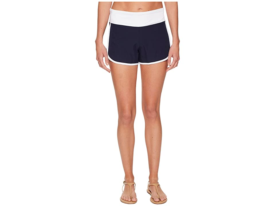 Tommy Bahama IslandActive Solid Hybrid Pull-On Short Cover-Up (Mare Navy) Women