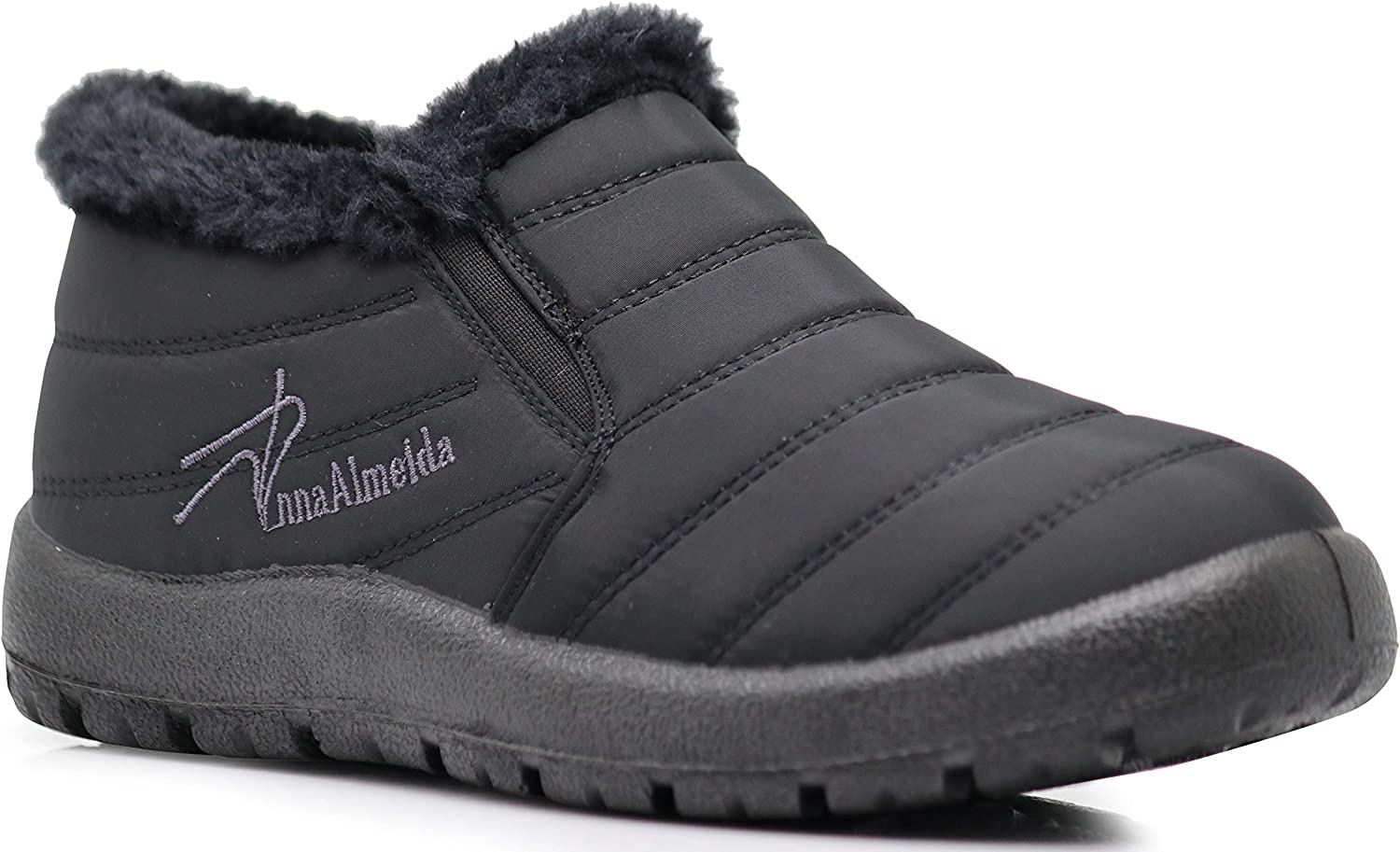 Whistler Womens Anti-Slip Winter Snow Boots with Fully Fur Lined High Ankle Top Shoe