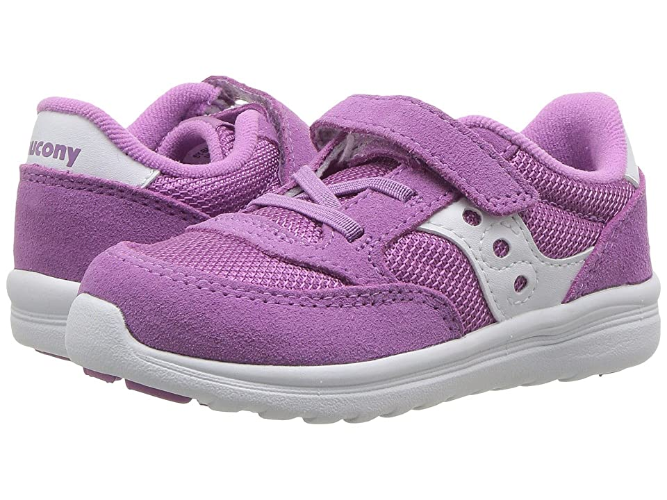 Saucony Kids Originals Jazz Lite (Toddler/Little Kid) (Purple) Girls Shoes