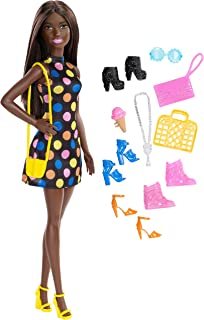 Barbie Doll and Accessories, Brunette