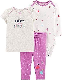 Carter's Baby Girls' 3-Piece Princess Little Character Set Daddy's Little Princess