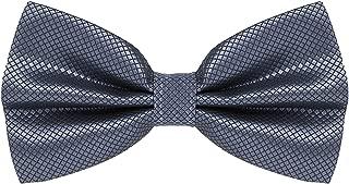 Mens Classic Pre-Tied Solid Formal Tuxedo Bowtie Adjustable Length