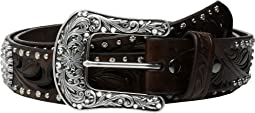 Embossed Cross Concho Belt