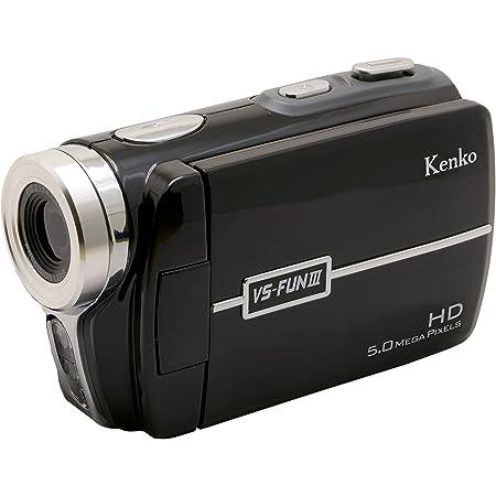 Kenko デジタルビデオカメラ VS-FUN III 1280×720/30fps 3.0インチ液晶 SDHCカード対応 小型 434956