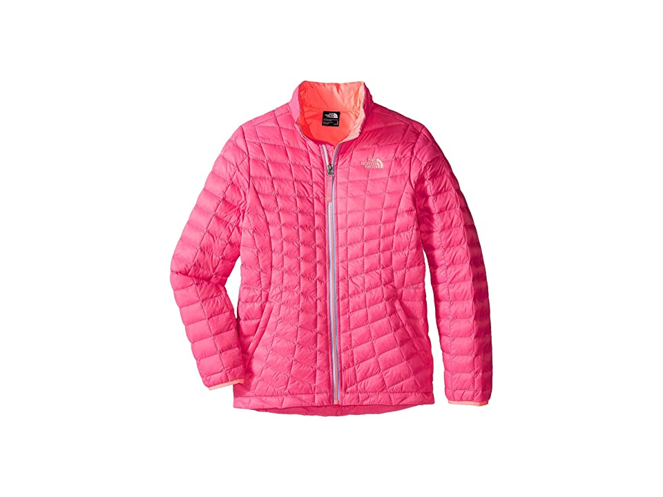 The North Face Kids Thermoball Full Zip Jacket (Little Kids/Big Kids) (Cha Cha Pink (Prior Season)) Girl
