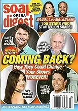 Soap Opera Digest Magazine October 28 2019 Peter Reckell Anthony Geary James Scott Vanessa Marcil