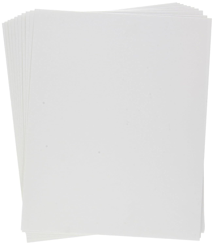 Clairefontaine Fleur De Cotton Paper, 250 g, 24 x 30 cm, 10 Sheets