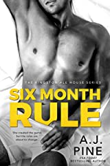 Six Month Rule (Kingston Ale House Book 2) Kindle Edition
