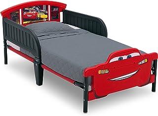 Delta Children 3D-Footboard Toddler Bed, Disney/Pixar Cars 3