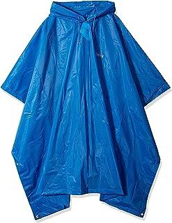 Rain Poncho | Adult Waterproof Poncho, One Size, Blue