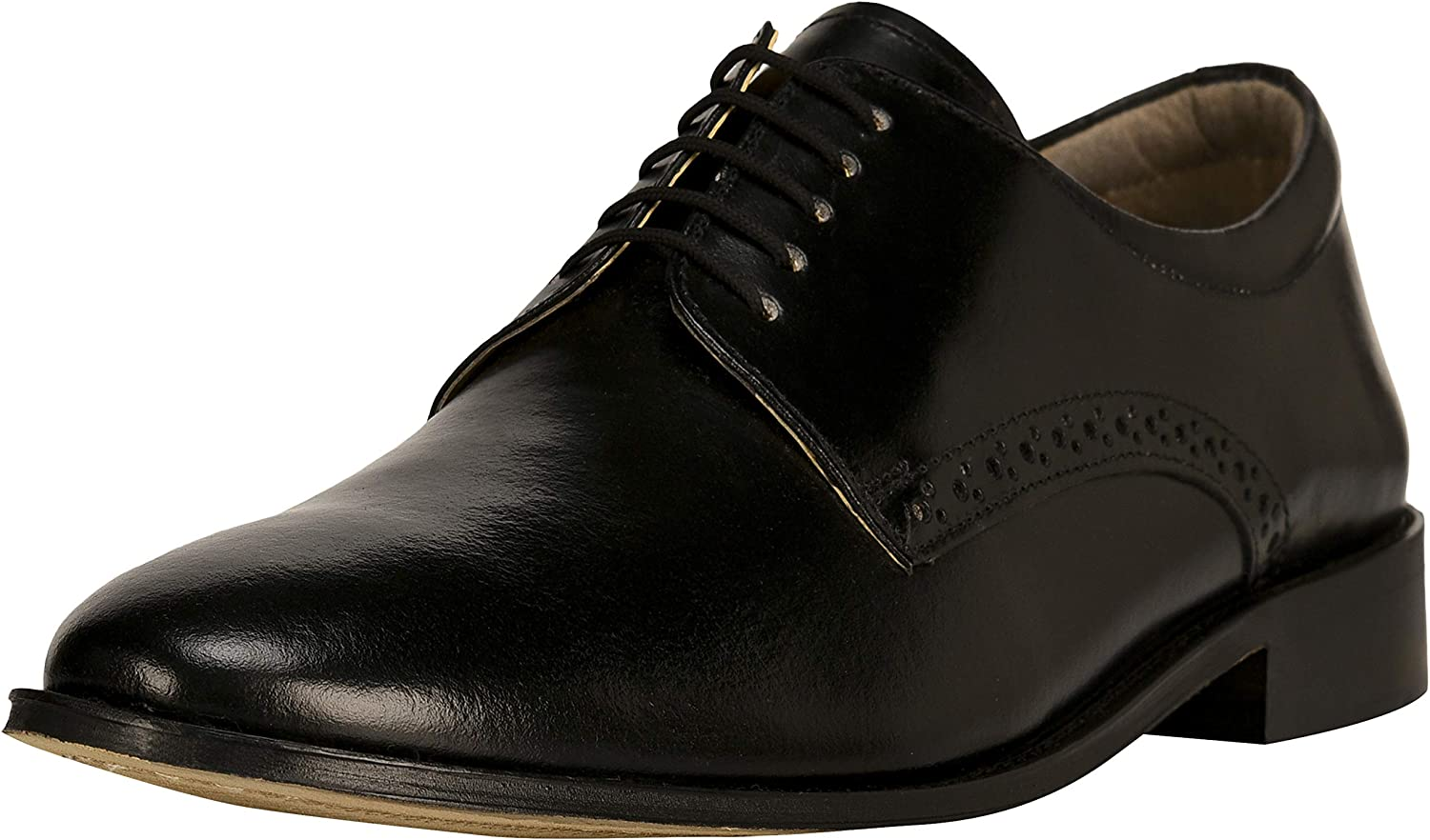LIBERTYZENO Oxford Dress Shoes for Men Formal Business Shoes Genuine Leather