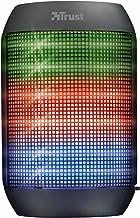 Trust Urban Ziva - Altavoz inalámbrico Bluetooth con iluminación, Color Negro