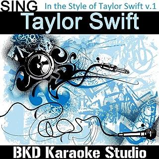 Fifteen (In the Style of Taylor Swift) (Karaoke Version)