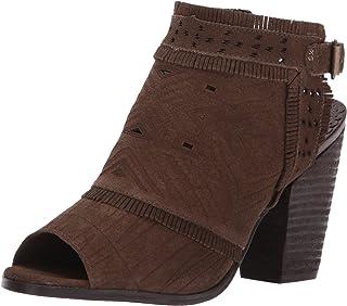 Naughty Monkey Women's Sweet Jackie Ankle Bootie, Dark Olive, 6 M US
