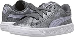 Puma Kids - Basket Holiday Glitz (Toddler)