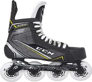 CCM Unisex RH9060 Tac Jr Player in Line Skates, Junior, Black