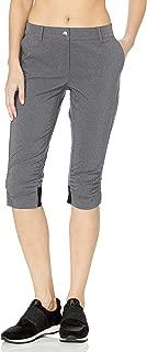 ANNIKA by Cutter & Buck Women's Moisture Wicking, UPF 50+, Stretch Morgain Long Short