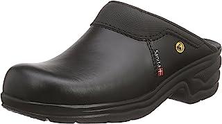 Sanita San Pro Light OB Certified ESD Safety Work Clog | Original Handmade | Comfortable Leather Mule Clog