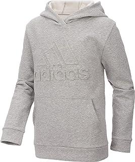 adidas Boys` Exclusive Embossed Logo Fleece Hoodie