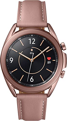 discount SAMSUNG Galaxy Watch outlet online sale 3 (41mm, GPS, Bluetooth) Smart Watch with Advanced Health Monitoring, outlet sale Fitness Tracking, and Long Lasting Battery - Mystic Bronze (US Version) outlet online sale