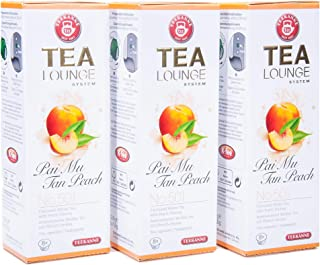 Teekanne Tealounge Kapseln - Pai Mu Tan Peach No. 501 Weißer Tee 3x8 Kapseln