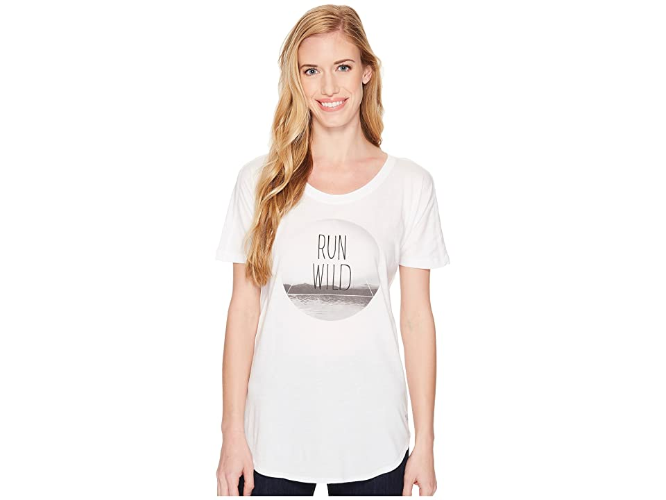 The North Face Graphic Short Sleeve Tee (TNF White) Women