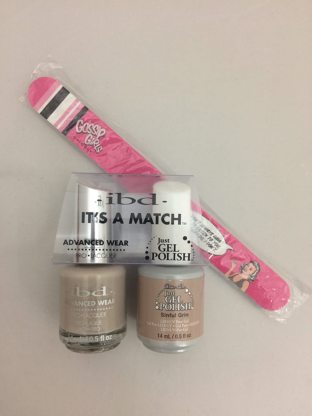 補助溶ける額ibd - It's A Match -Duo Pack- Nude Collection - Sinful Grin - 14 mL / 0.5 oz Each