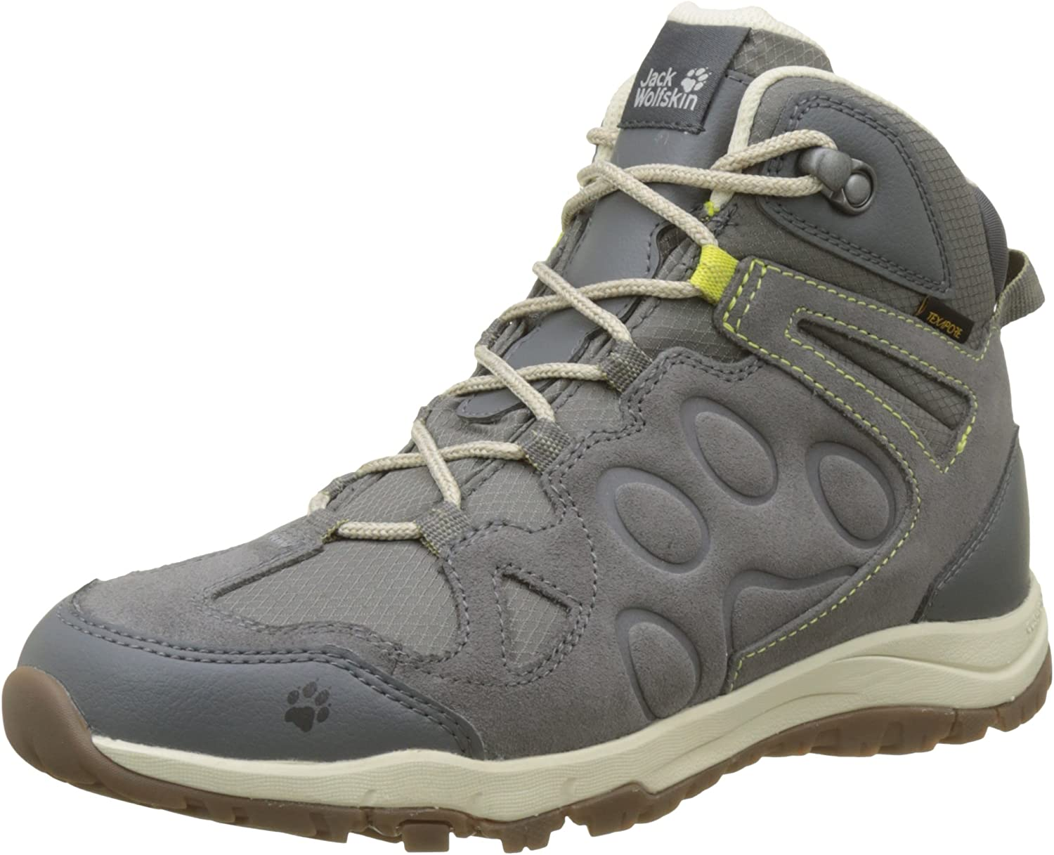 Jack Wolfskin Womens Rocksand Texapore Mid W Hiking shoes