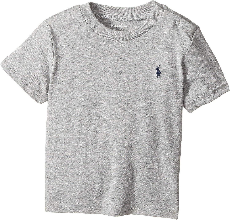 Polo Ralph Lauren Kids Baby Boy's Cotton Jersey Crew Neck T-Shirt (Infant)