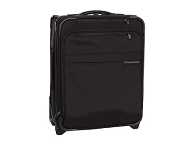 Briggs & Riley Baseline Commuter Expandable Upright (Black) Carry on Luggage
