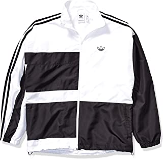 Men's Asymm Relaxed-Fit Track Jacket