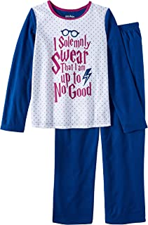 Harry Potter I Solemnly Swear That I am Up to No Good 2 Piece Girl's Sleepwear Pajama Set
