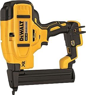 DEWALT DCN681N TL20593 Cordless XR Brushless Narrow Crown Stapler, 18 V, Yellow/Black, 18 Gauge