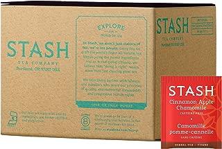 stash cinnamon apple chamomile tea calories