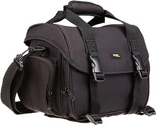 AmazonBasics Large DSLR Gadget Bag With Orange interior